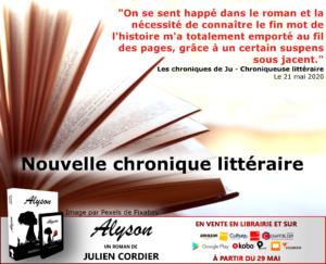 Chronique Julie Gaumet