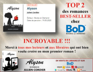 Best-seller chez BoD