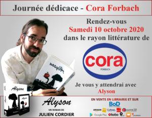 Dédicace Cora Forbach